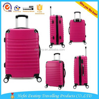 ABS 4 universal wheels hard case travel luggage suitcase ABS trolley case