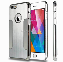 Luxury Aluminum Alloy Ultra Thin Metal Back Skin Cover Case For Apple iPhone 6 4.7'' Plus 5.5""