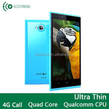 Quad core 1.2GHZ 64 bits Android Dual SIM card dual standby cell phone