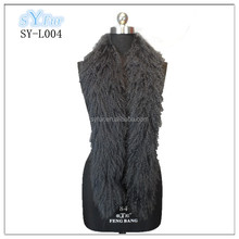 hot sale fashion long style ladies mongolian lamb sheep fur scarf and shawls for women and sex girl