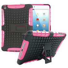 Tablet case TPU pc 2 in 1 stand shockproof case for ipad 1 2 3 , for custom ipad case cover ,for ipad case air