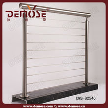 stainless steel round pipe handrail wire railings