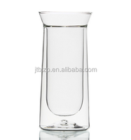 glass blowing supplies wholesale high boron silicon double glass cup tea cup