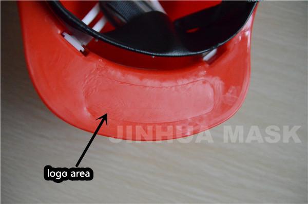 red PP Single top reinforcement Safety Helmet