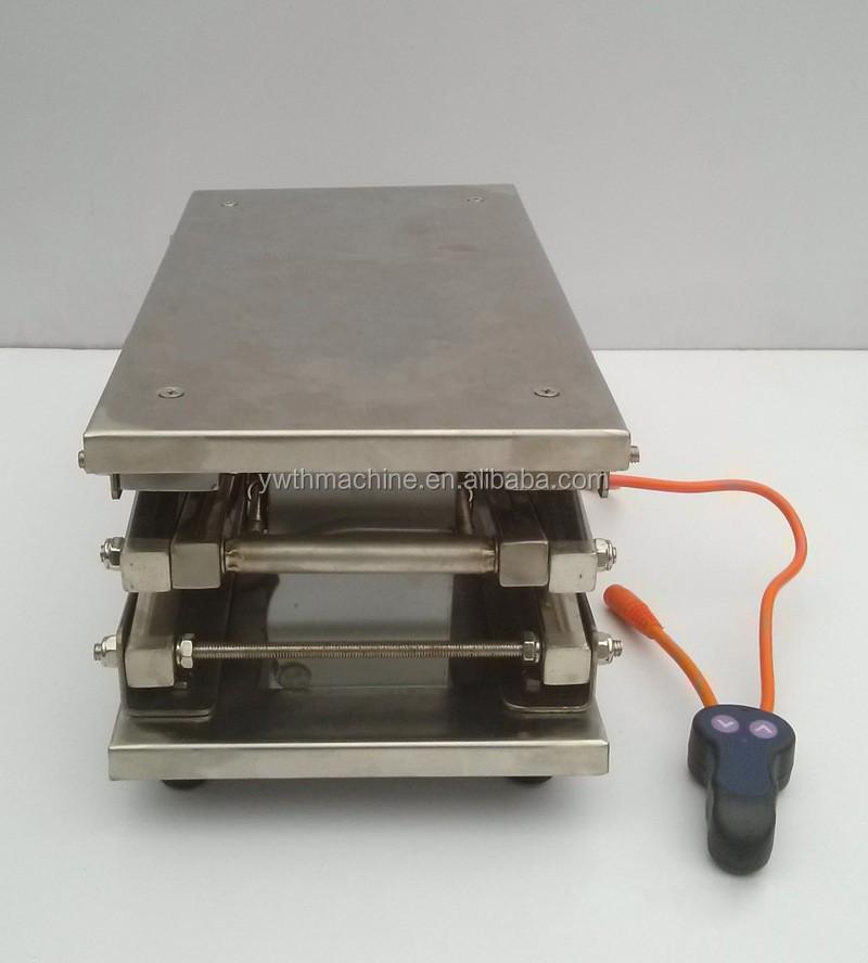 12v elektrische 50kg edelstahl schere labor wagenheber. Black Bedroom Furniture Sets. Home Design Ideas