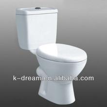 Cuarto de baño de dos aseos piezas / barato armario de agua KD-04TP