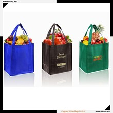 100% QC custom make 90g promotional recycle PP non woven bag