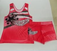 Newest design OEM service digital printing Sexy lycra cheerleading crop top,cheer skirts,tank top