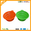 FDA Standard Hot Sale on Amazon China Manufacturer silicone pet bowl with logo printing