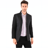 Autumn Hot Fashion Top Brand Leisure Gentleman Business Suits for Man 2015