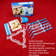 Alta efecto profesional de limpieza de los dientes home kit / kit de blanqueamiento en venta con aprobado por la FDA