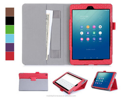 Durable leather tablet case for Nokia N1 with cash pocket