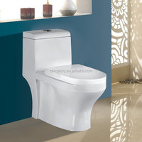 ready made toilets in green color, fiberglass portable toilets