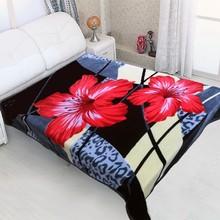100% polyester blanket super king size mink blanket minky fabric wholesale