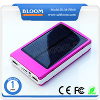 OEM solar mobile phone charger/20000mah waterproof mobile solar charger