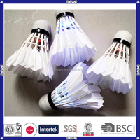 promotional oem popular glitter badminton with different colors