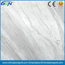 Good Price Top Polished White Italy Volakas Marble Tiles