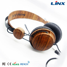 Fashion wood headphone for music fans