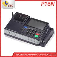Handheld Pos Terminal With Printer RS232/USB,TCP/IP,GPRS/CDMA,WLAN and Modem Card Reader