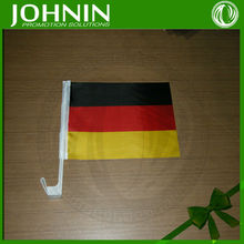 High quality polyester cheap price small size germany car flags