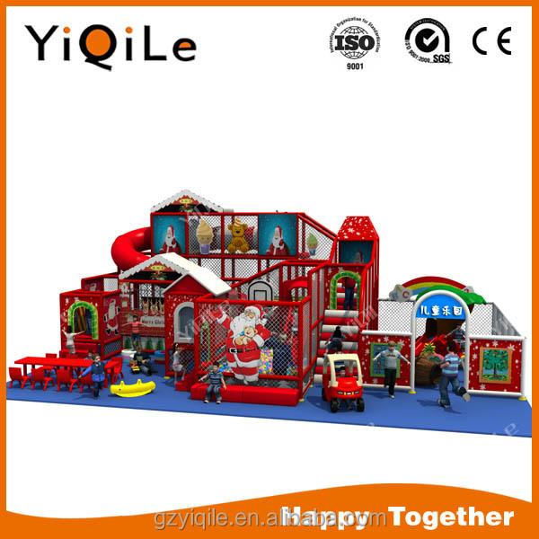 Merry Christmas theme design nursery indoor playground kindergart indoor equipment for childrenen