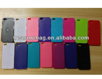 Soft TPU materials blank sublimation cases for ip5 with sublimation metal