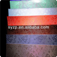 """120g-450g 31""""*43"""" Silver & Golden Texture Aluminum Foil laminated wrapping Paper"""