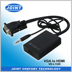 High quality HD 15pin Male to Male vga cable 30m