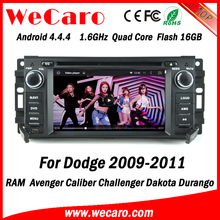 Wecaro WC-JC6235 Android 4.4.4 radio 1080p for dodge ram 1500 car dvd player 2009 2010 2011 bluetooth