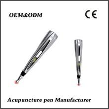 Pmini infrared pulse vibration acupuncture massage pen/portable vibration acupuncture point massage pen