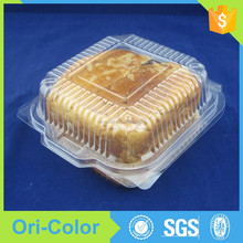 China plastic disposable fast food container hamburger packaging