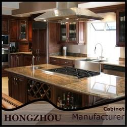 2015 Top Selling Wooden Custom Make Modular Kitchen Cabinets
