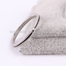 Jewelry wholesale china costume stainless steel jewelry new model wedding ring jewel