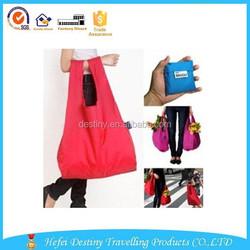 2015 New style practical promotional beautiful folding storage shopping bag