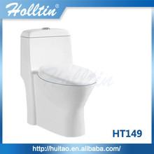 Cheap ceramic wholesale toilet S-trap one piece toilet bowl HT149
