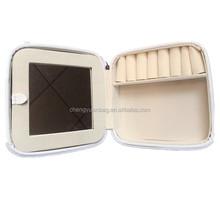 Jewelry box eva black fashion beauty cosmetic bag cases