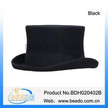 Hot selling american 100% wool felt a top hat