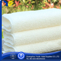 woven hot sale 100% organic cotton cotton disposable airline towel with tong