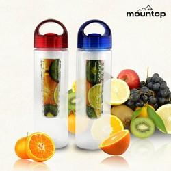 New design private label 700ml tritan fruit infuser water bottle colorful plastic water bottle