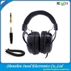 High sound quality headphone with 50 mm driver cuffia headphones surround ears