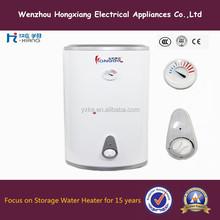 Faible puissance de stockage en acier inoxydable chauffe - eau électrique