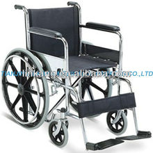 Plastic wheel wheelchair for disable