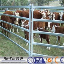 6 bar /5bar Galvanized Corral Cattle Panel Corral horse panel