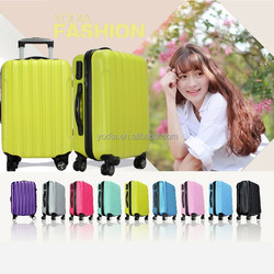 Travelmate trolley luggage travel bags, hard shell waterproof spinner suitcase