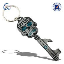 nice key shaped aluminum bottle opener keyring