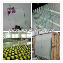 0.55mm -25mm float glass with CE and ISO high quality Clear Float Glass