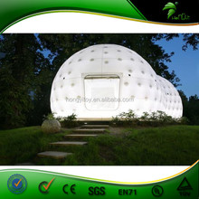 Very Beautiful and Attractive LED Lighting Dome / Cube Bubble tent With Model HY03IT1018