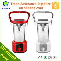 2015 Hot Selling Plastic 6W Camping Solar Lantern with 60 leds