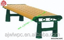 Long Life Run Fungus-resistant WPC Public Bench