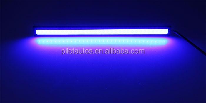 Завод Оптовая Водонепроницаемый Лампы Высокое Качество OEM Универсальный DRL COB Светодиодными Фарами Дневного Света COB